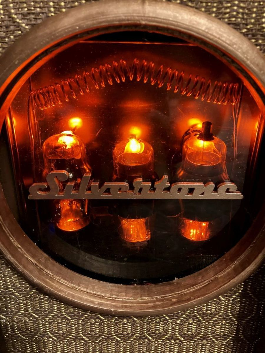 New life for old vacuum tubes. A touch of Steampunk