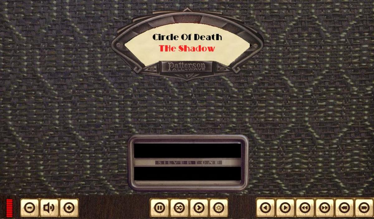 I created this skin for listening to  old radio programs from the 30s and 40s