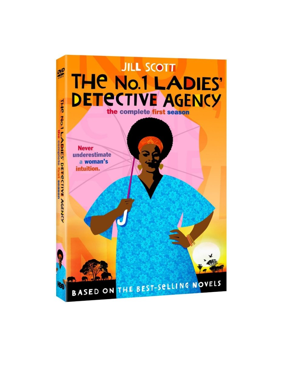 The No. 1 Ladies' Detective Agency--bright, colorful, feel-good