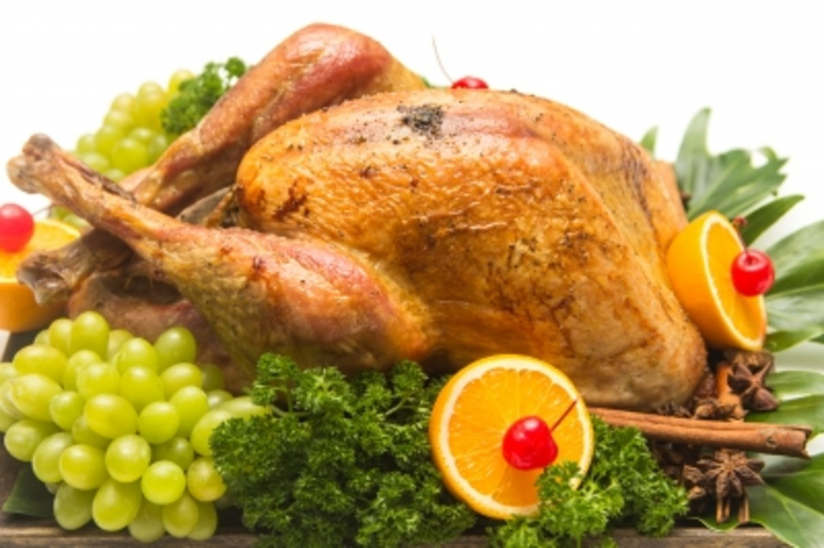 We serve both white meat and dark turkey meat at our holiday table.