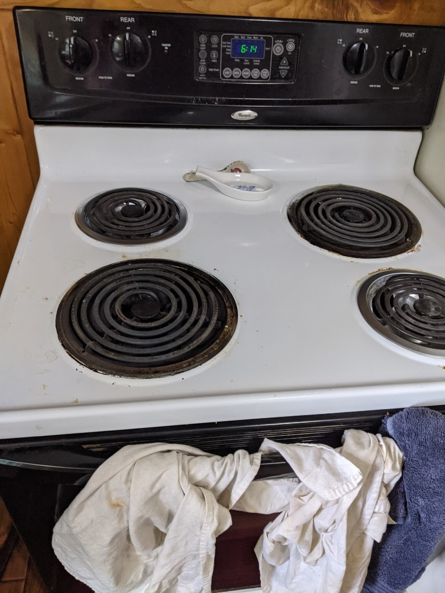 I used the two bigger burners