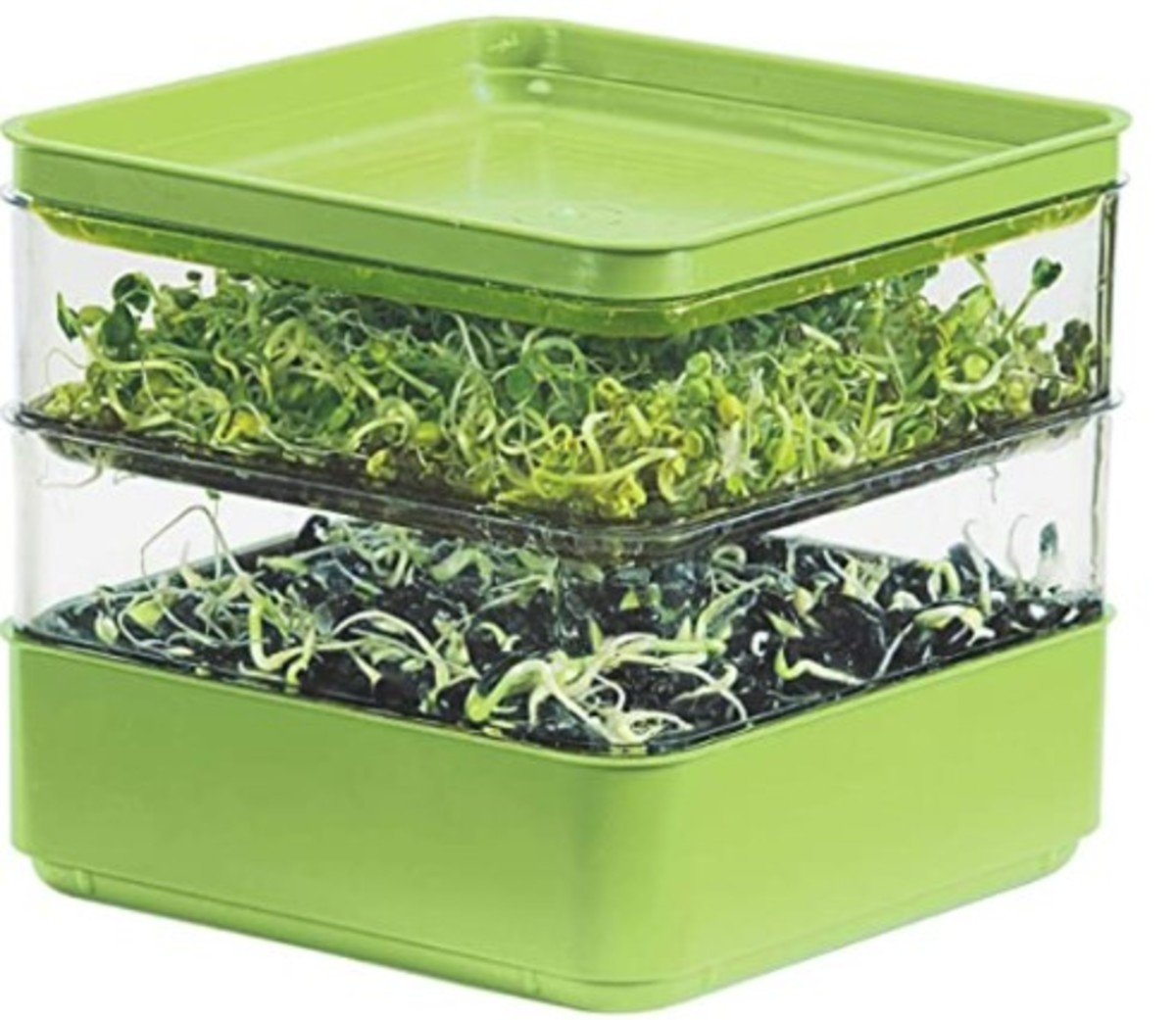Gardens Alive! Two-Tiered Seed Sprouter to sprout your own seeds at home