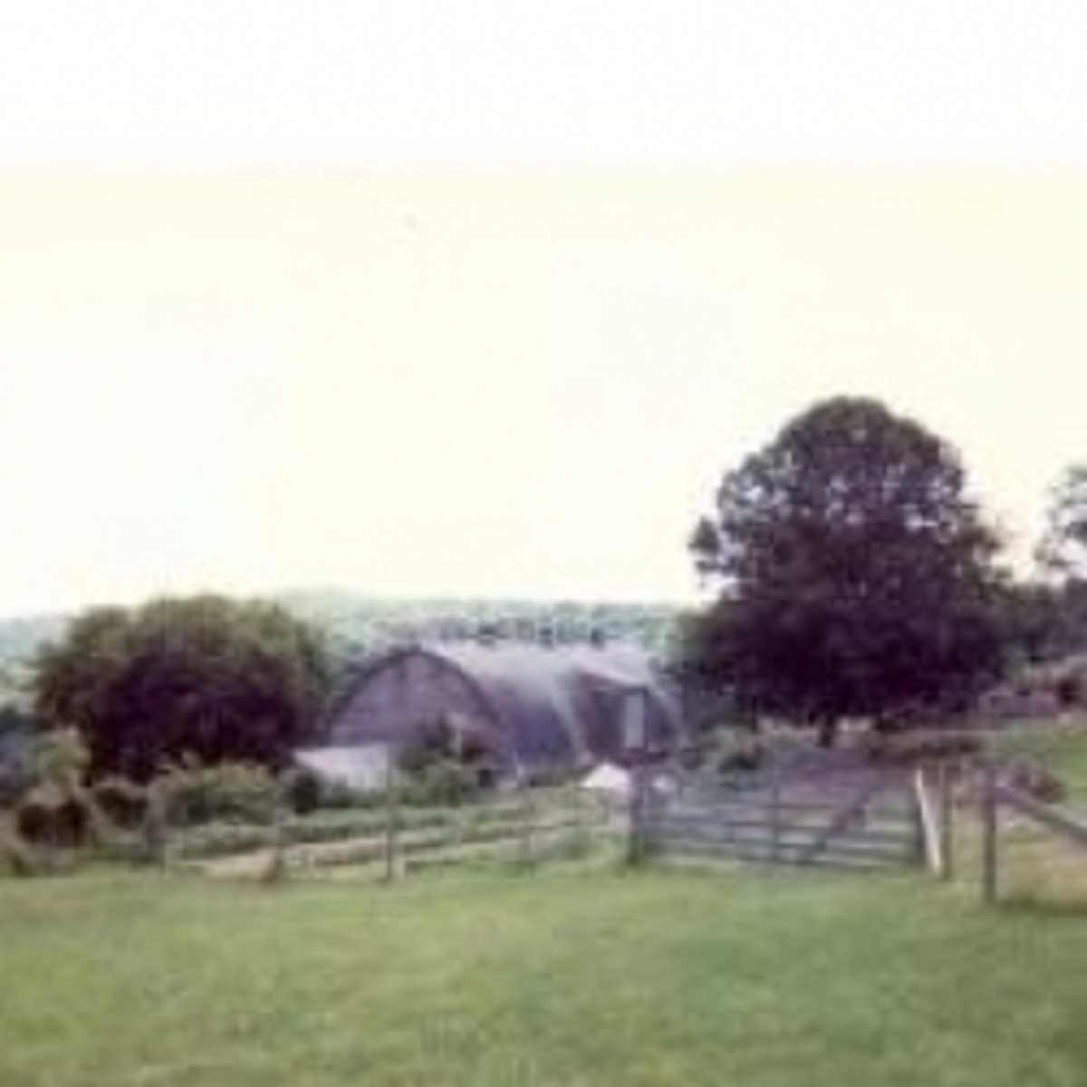 The Connecticut farm where we were caretakers.