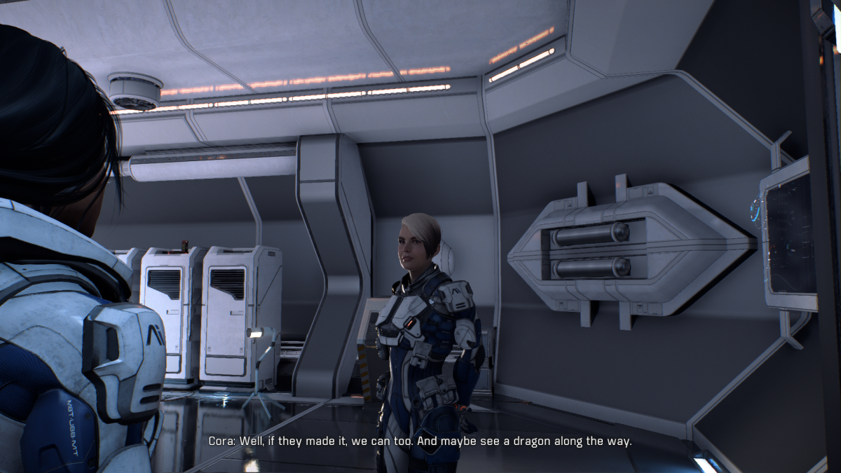 My Ryder and Cora chat about exploration.