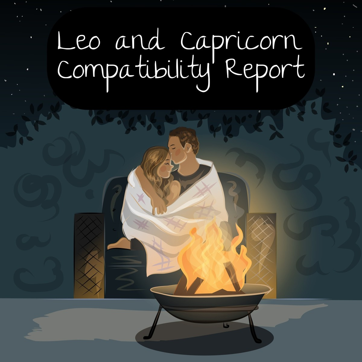 Leo and Capricorn in Love: When Opposites Attract ♌️ + ♑️