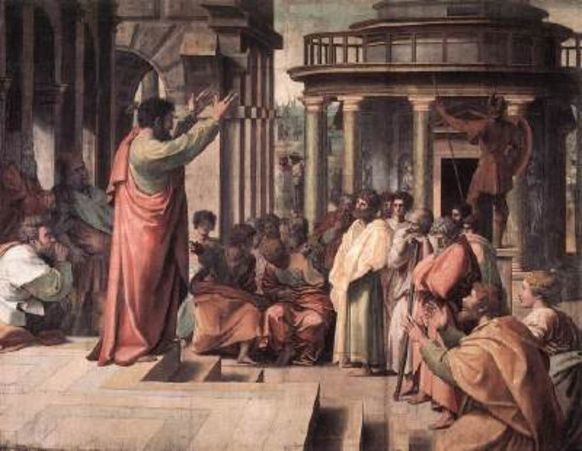 St Paul Preaching at Athens, Raphael (1483-1520)
