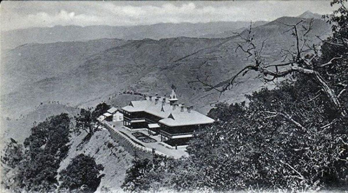 Walker Hospital ,Simla, opened in 1902.