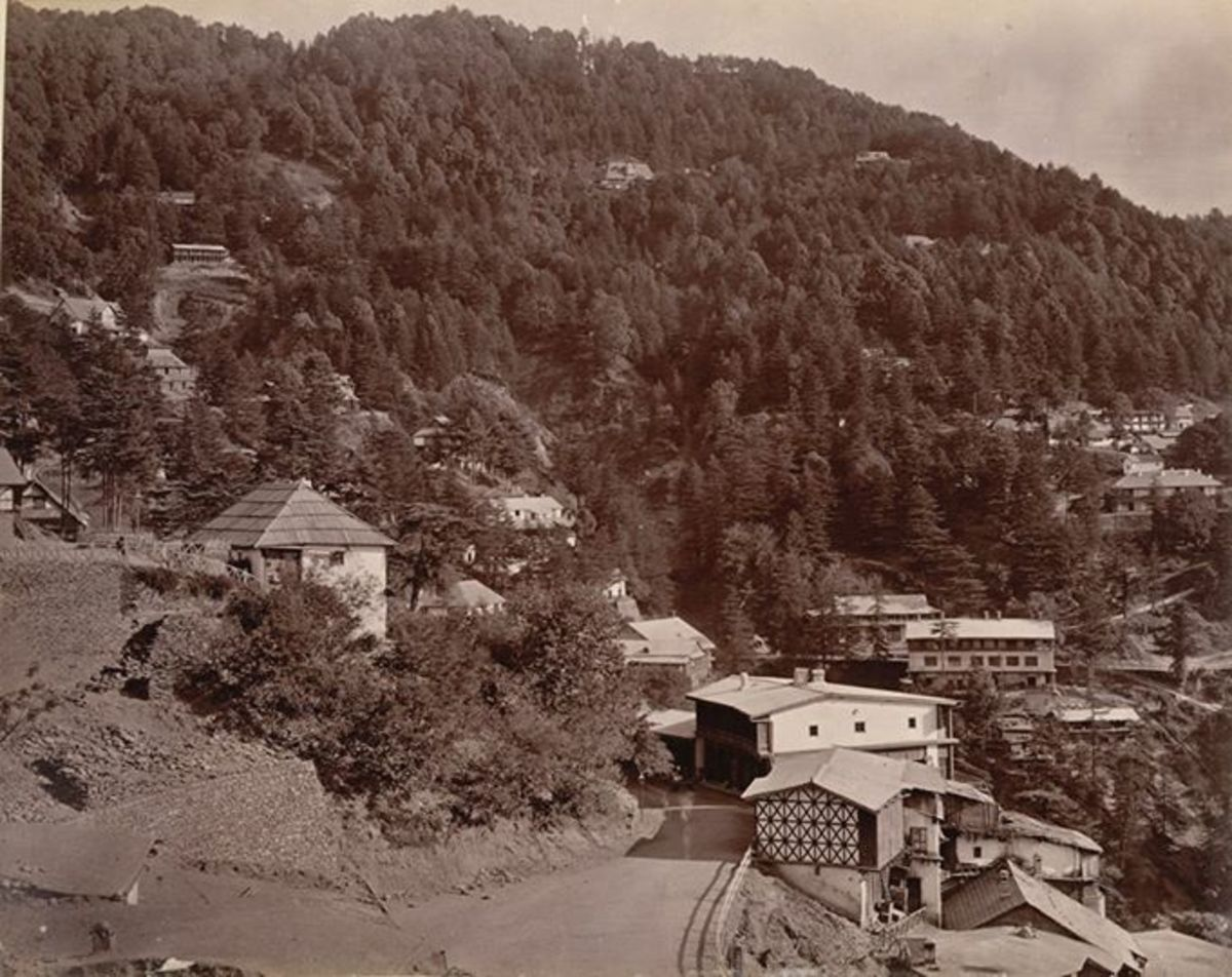 Mall Road in 1880