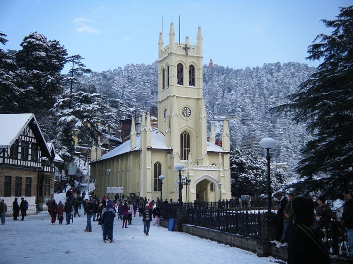 Christ Church The Mall Shimla