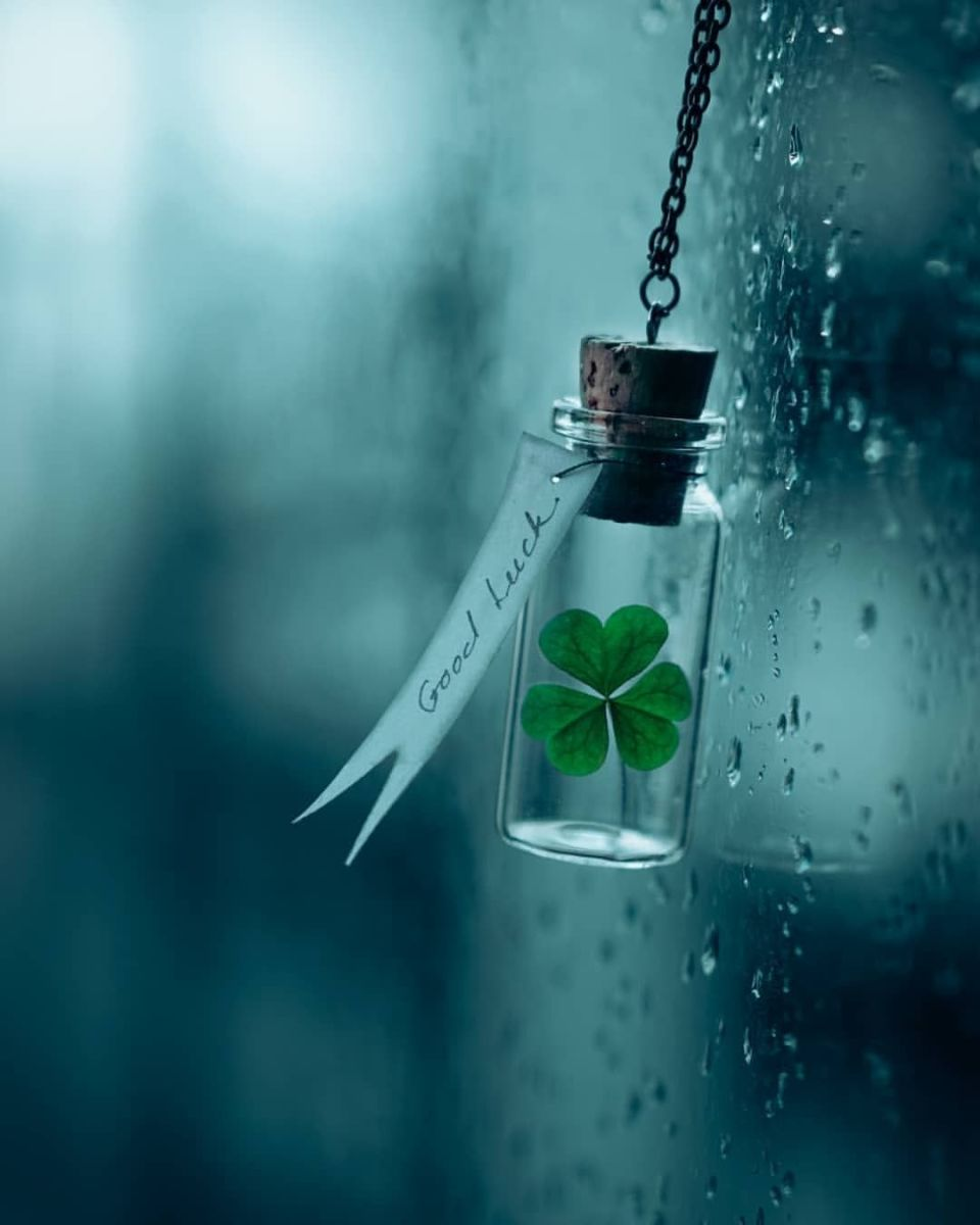 """Even in """"unlucky"""" there is still """"lucky""""."""