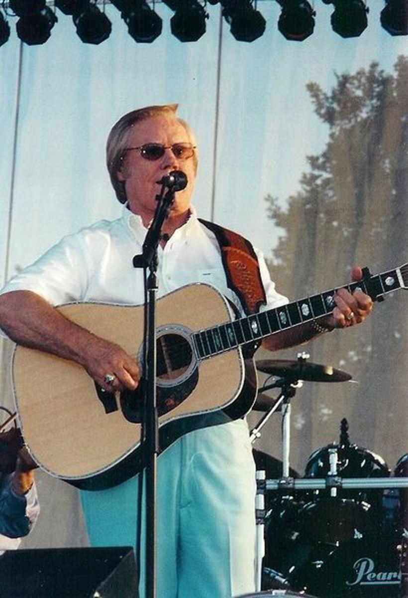 George Jones in 2002