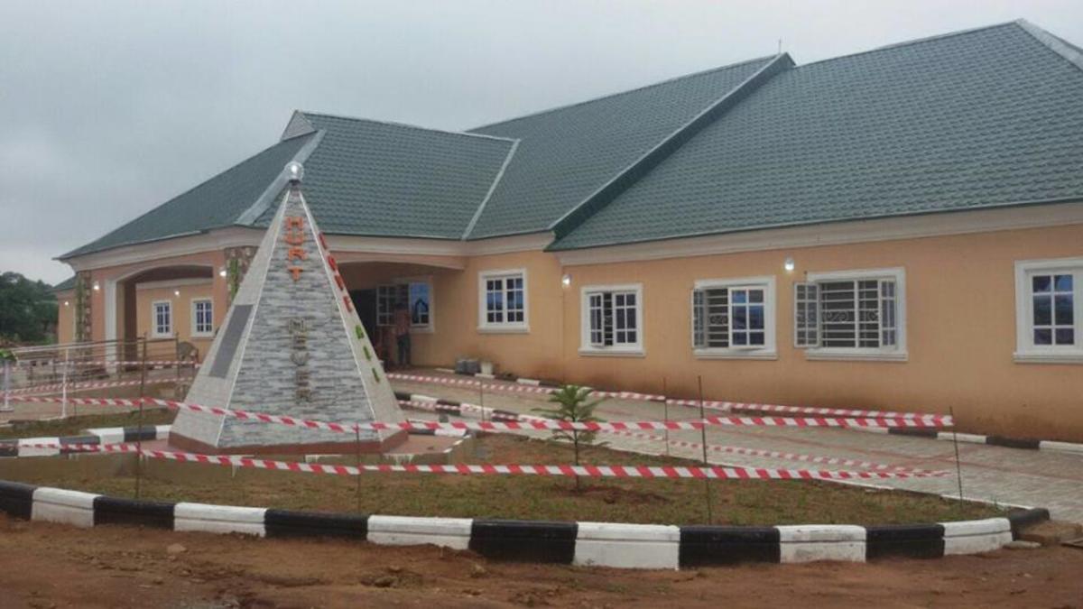 Aruike Hospital (the hospital of good health) at Enugu, Nigeria