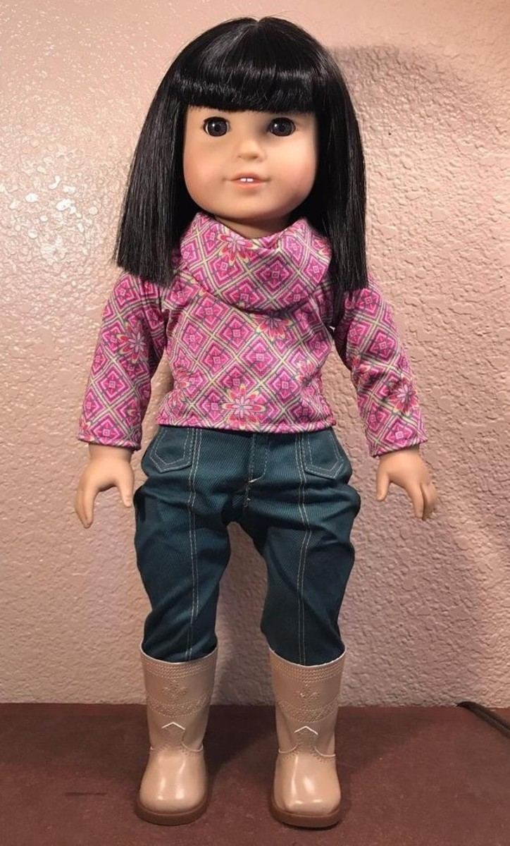 An Ivy doll in her Meet Outfit