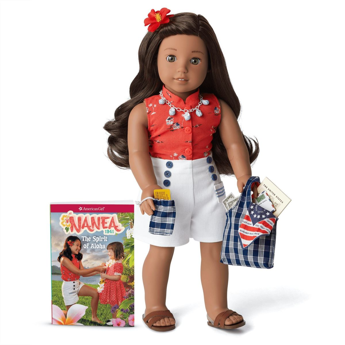 Nanea, pictured wearing her accessories