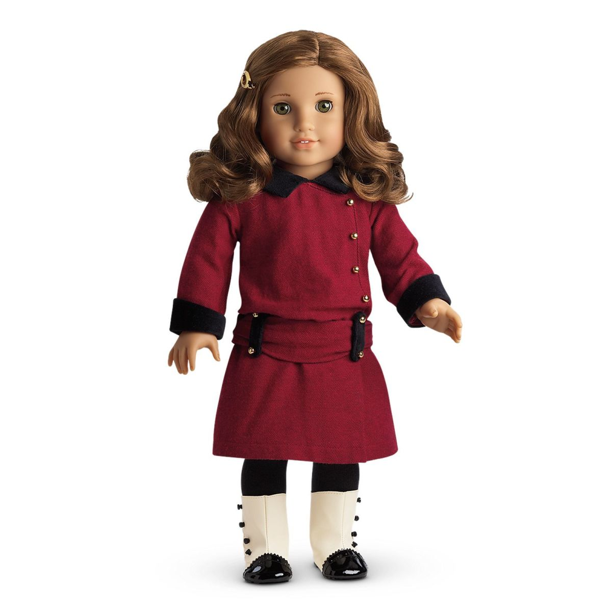 A Rebecca doll in her Classic Meet Outfit