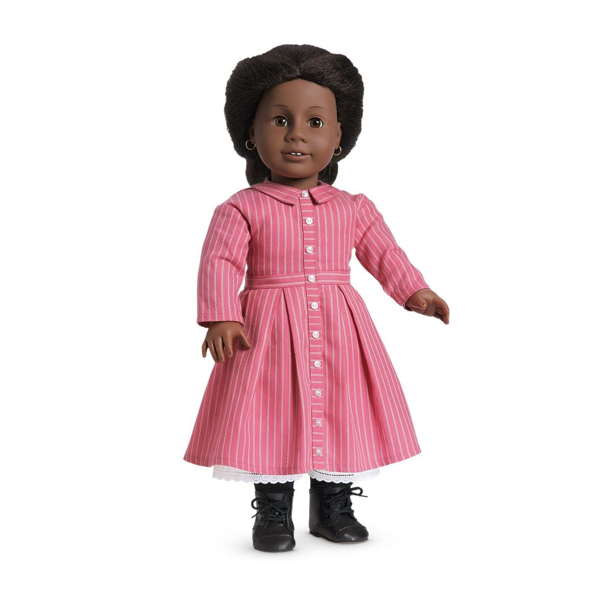 An Addy doll wearing her original Meet Outfit