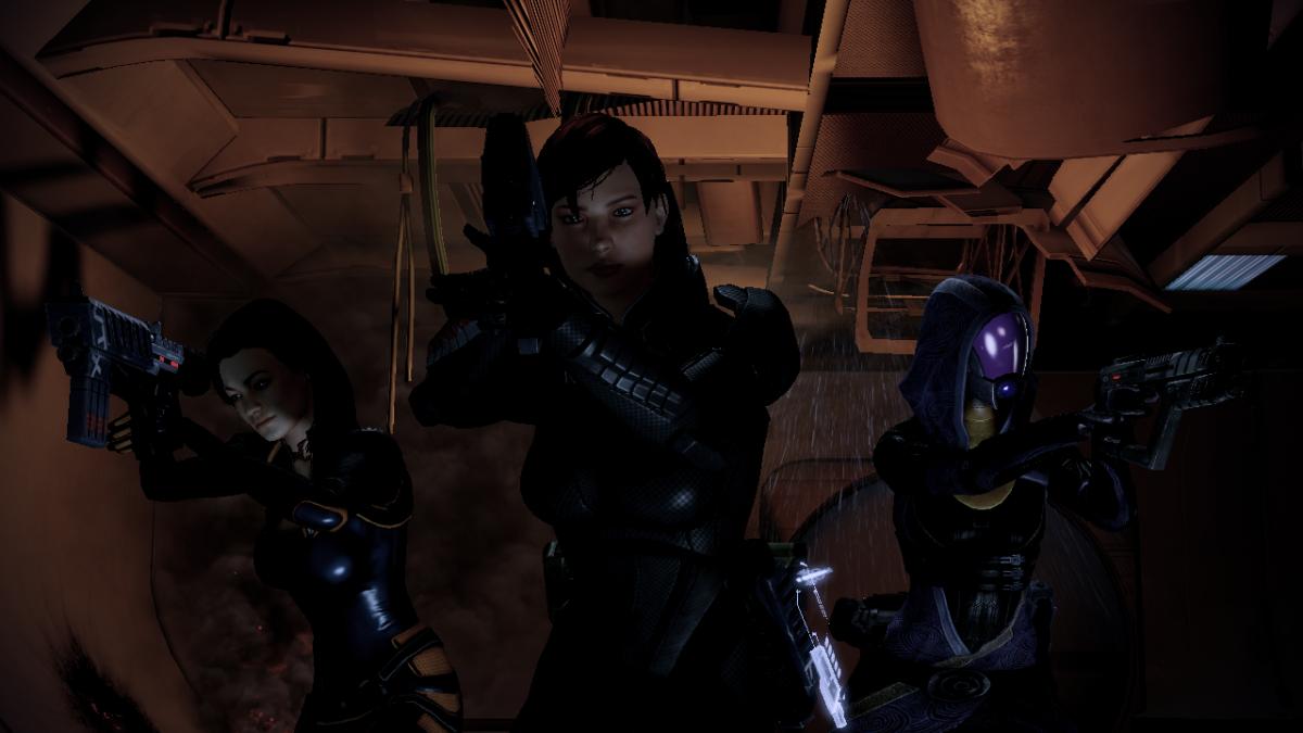 Shepard threatens Vasir.