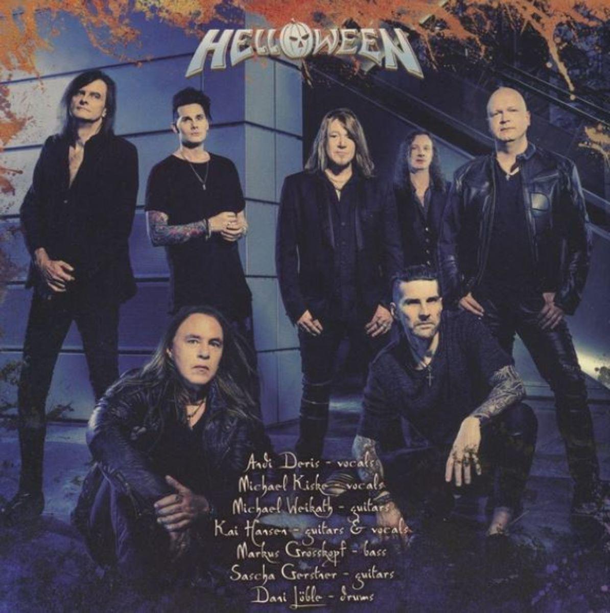 Pumpkins united! Helloween 2021 lineup.