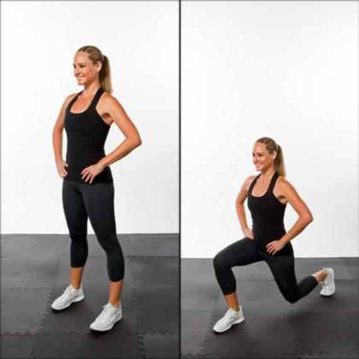 reverse-lunge slim your thighs