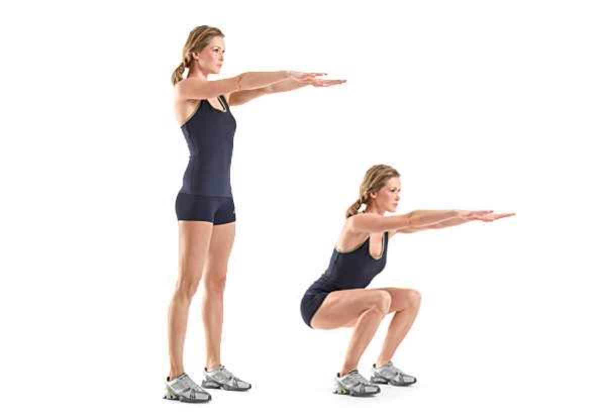squats for thinner thighs