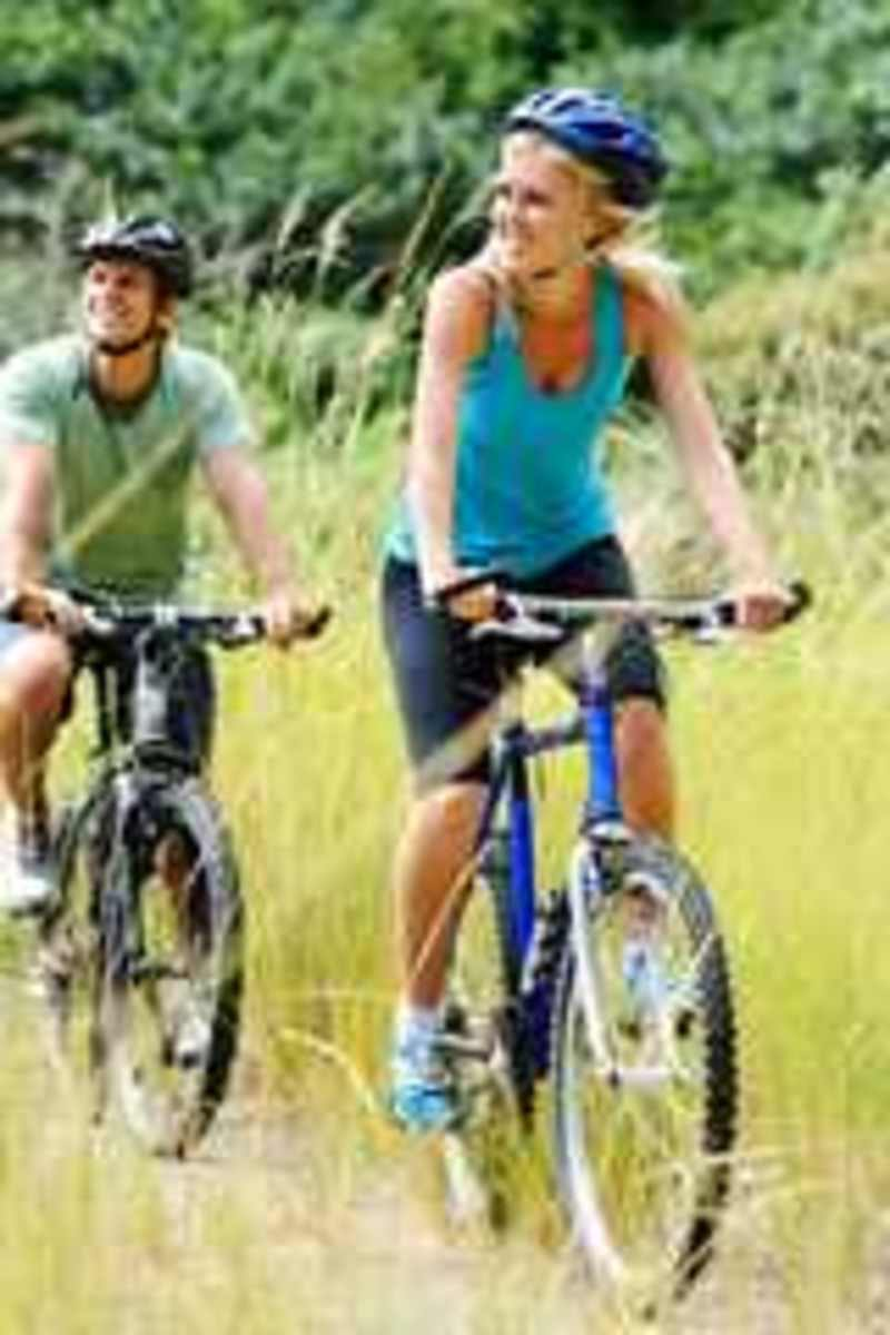 bicycling can make thighs thinner