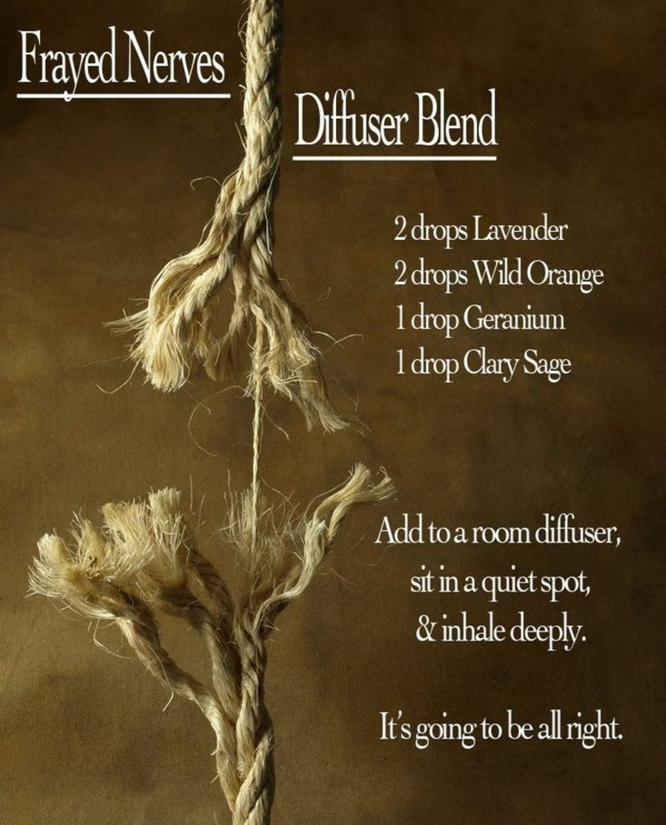 Frayed Nerves Essential Oil Blend For the Diffuser