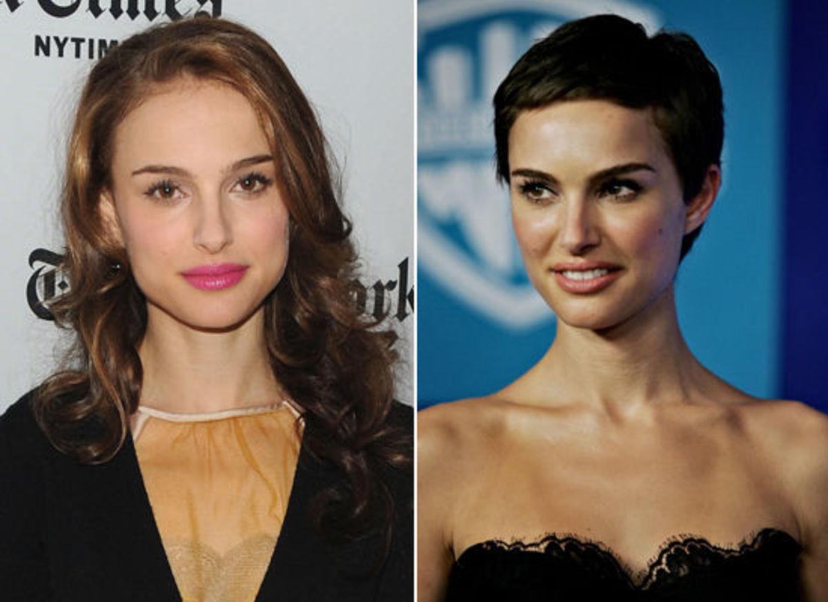 Natalie Portman's Pixie Haircut