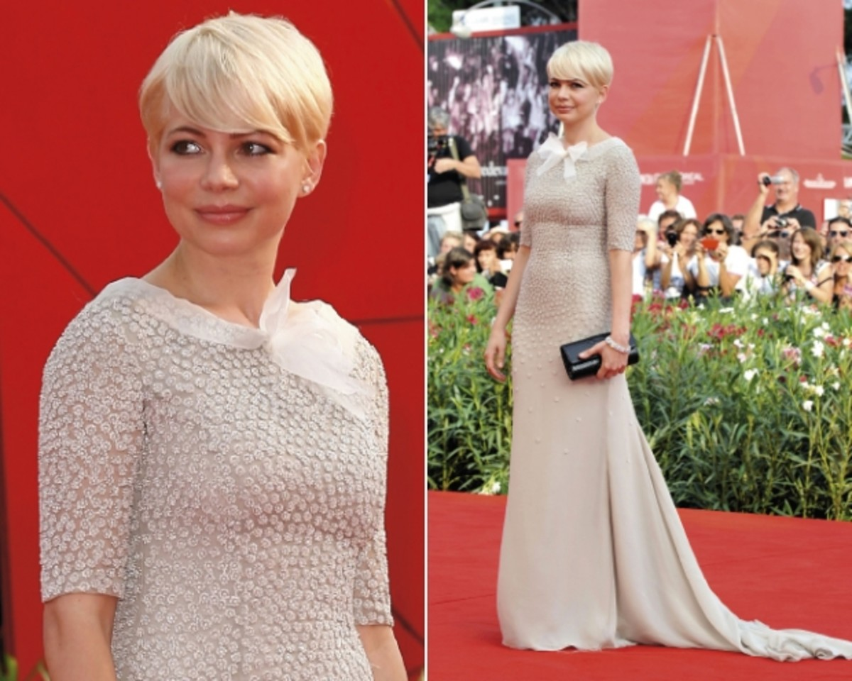 Michelle Williams' Pixie Haircut
