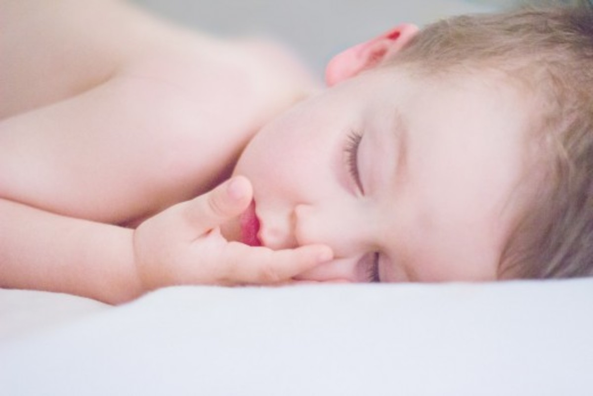 Avoid letting your baby sleep on their stomach