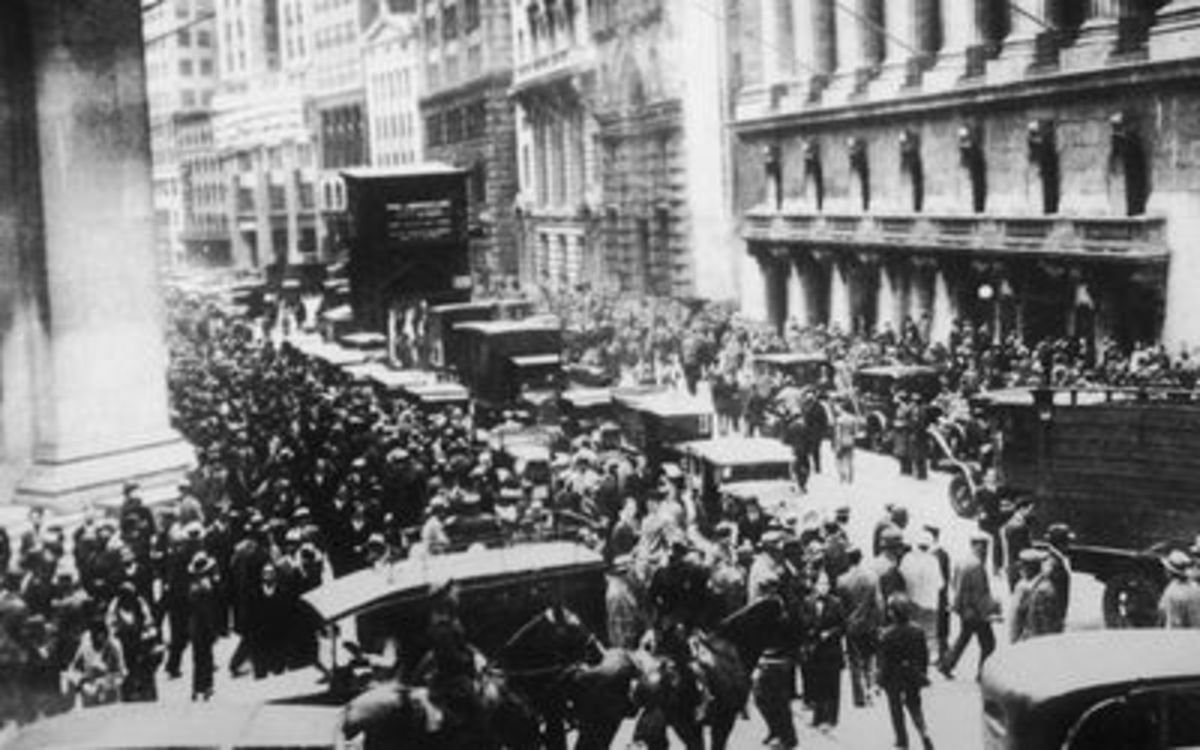The stock market crash of 1929 is a great parallel to the economic suffering that we are dealing with today. Although very different situations, the struggles and experiences of the people draw many similarities.