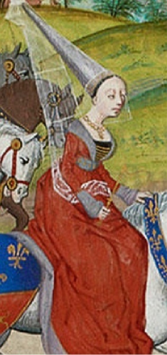 Isabella of France by Froissart. Created circa 1465.