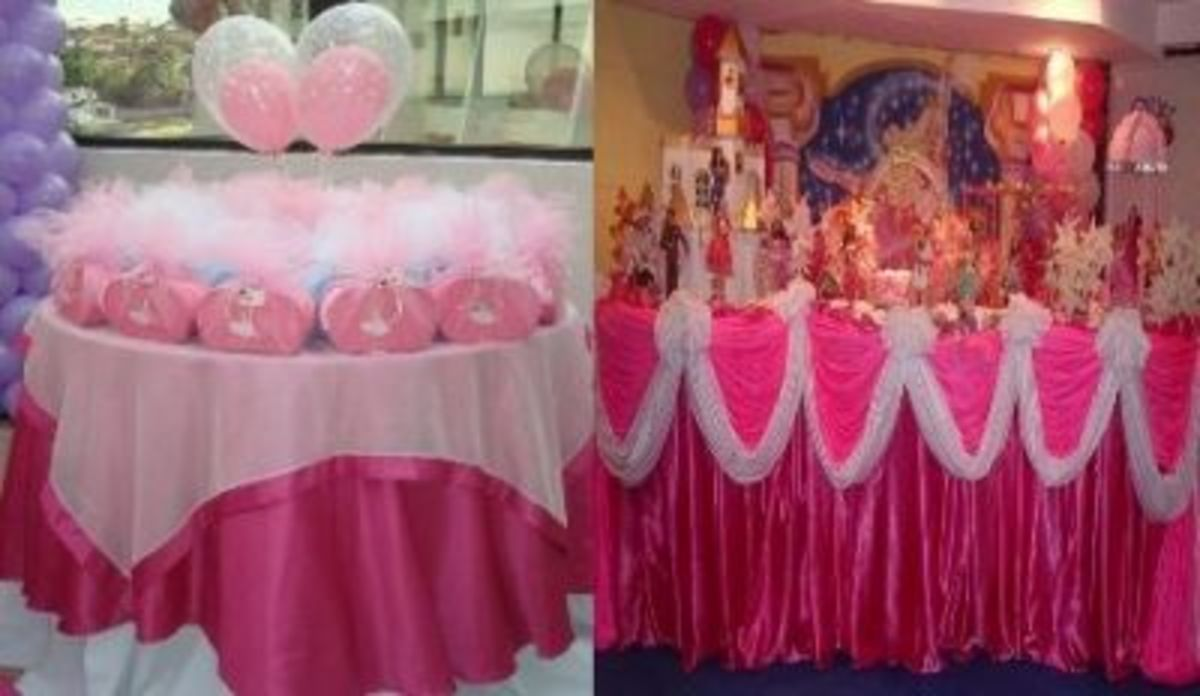 Tables Ideas For Ballerina Party