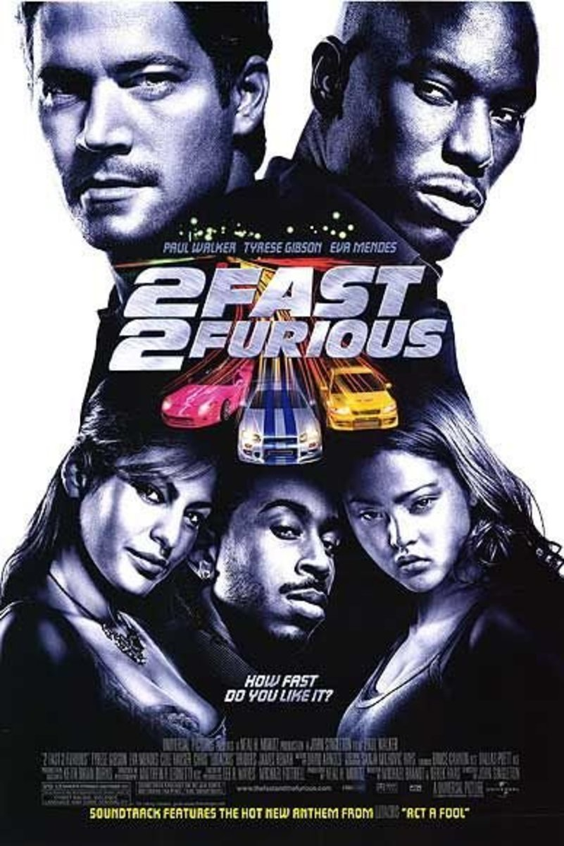 "Poster for ""2 Fast 2 Furious"""