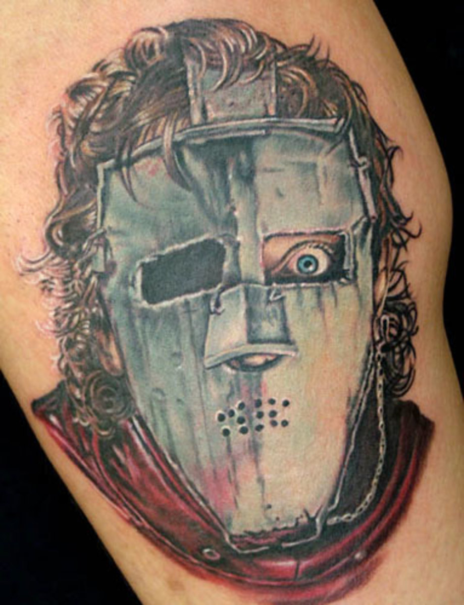 Disturbing Mask Tattoos