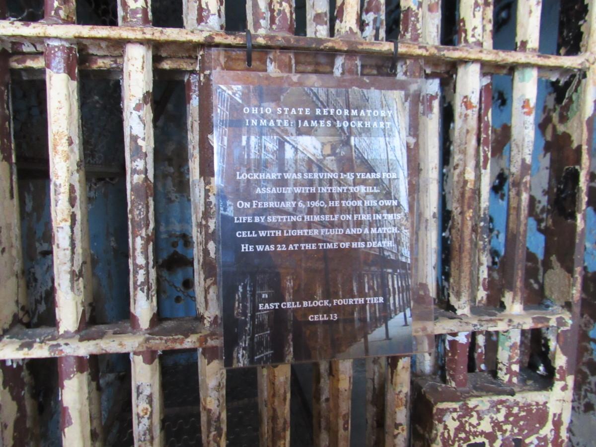 James Lockhart's cell