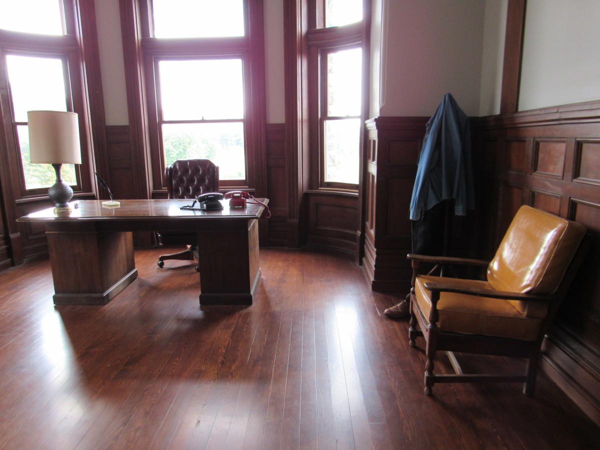 Warden Norton's office from The Shawshank Redemption