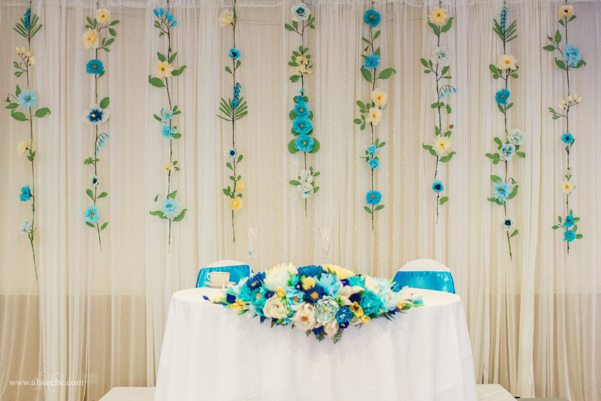 THis backdrop would be perfect for a wedding, anniversary, shower or party