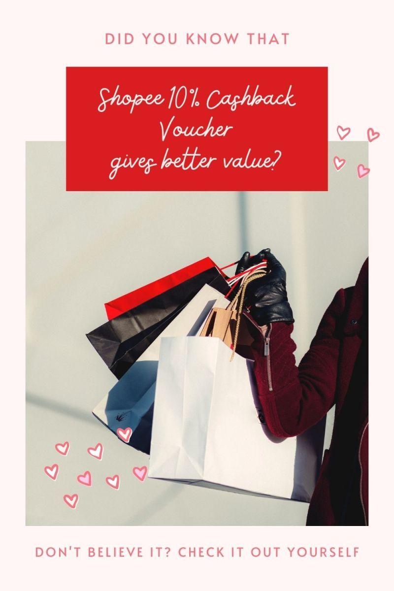 Shopee 10% Cashback Is Better