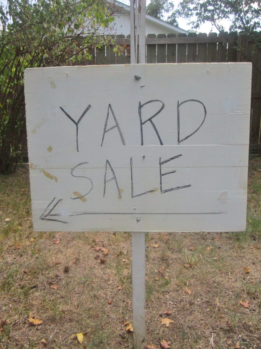 I love a good yard sale!