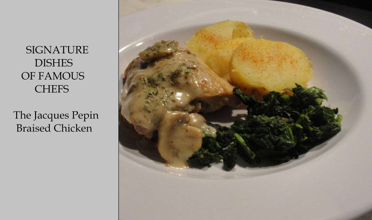 Signature Dishes of Famous Chefs: Jacque Pépin Braised Chicken