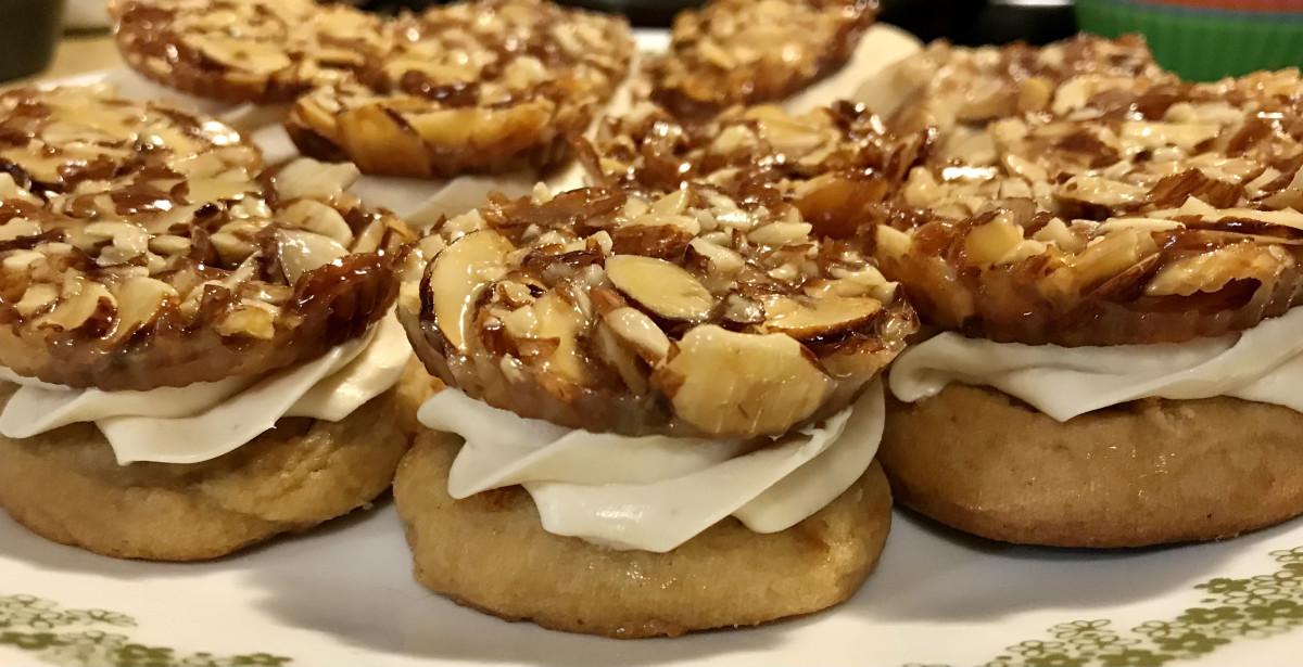 Bienenstich Cookies