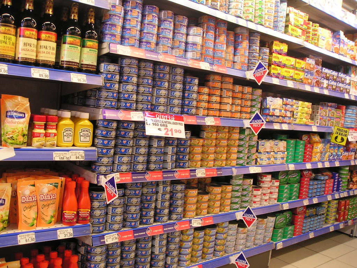 Nutritious canned fish line the shelves of  supermarkets. Mackerel is among the most affordable of canned fish.