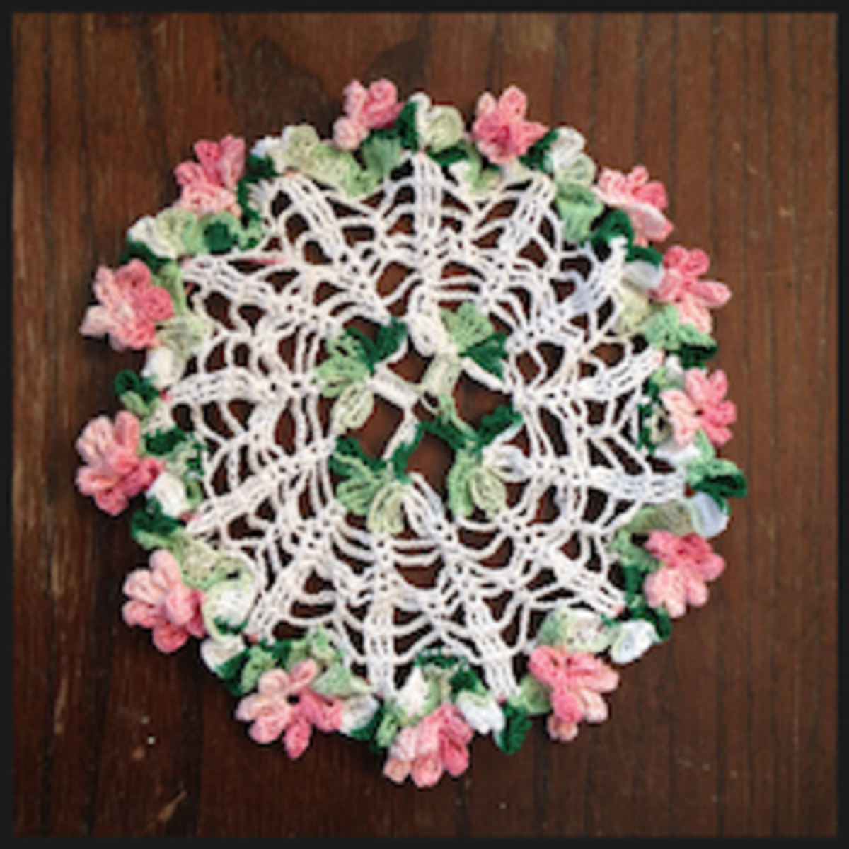 Four Leaf Clover Doily Free Crochet Pattern