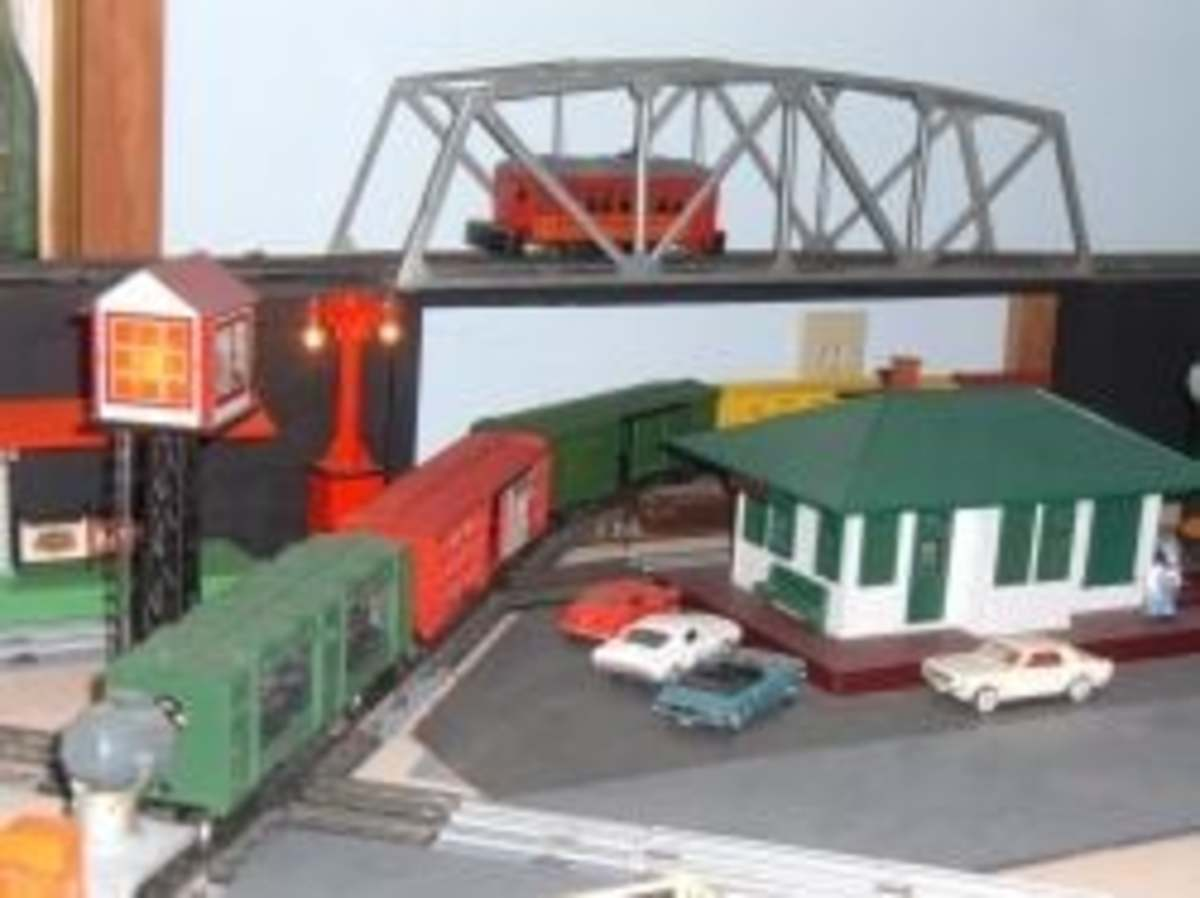 My Lionel Toy Train Layout