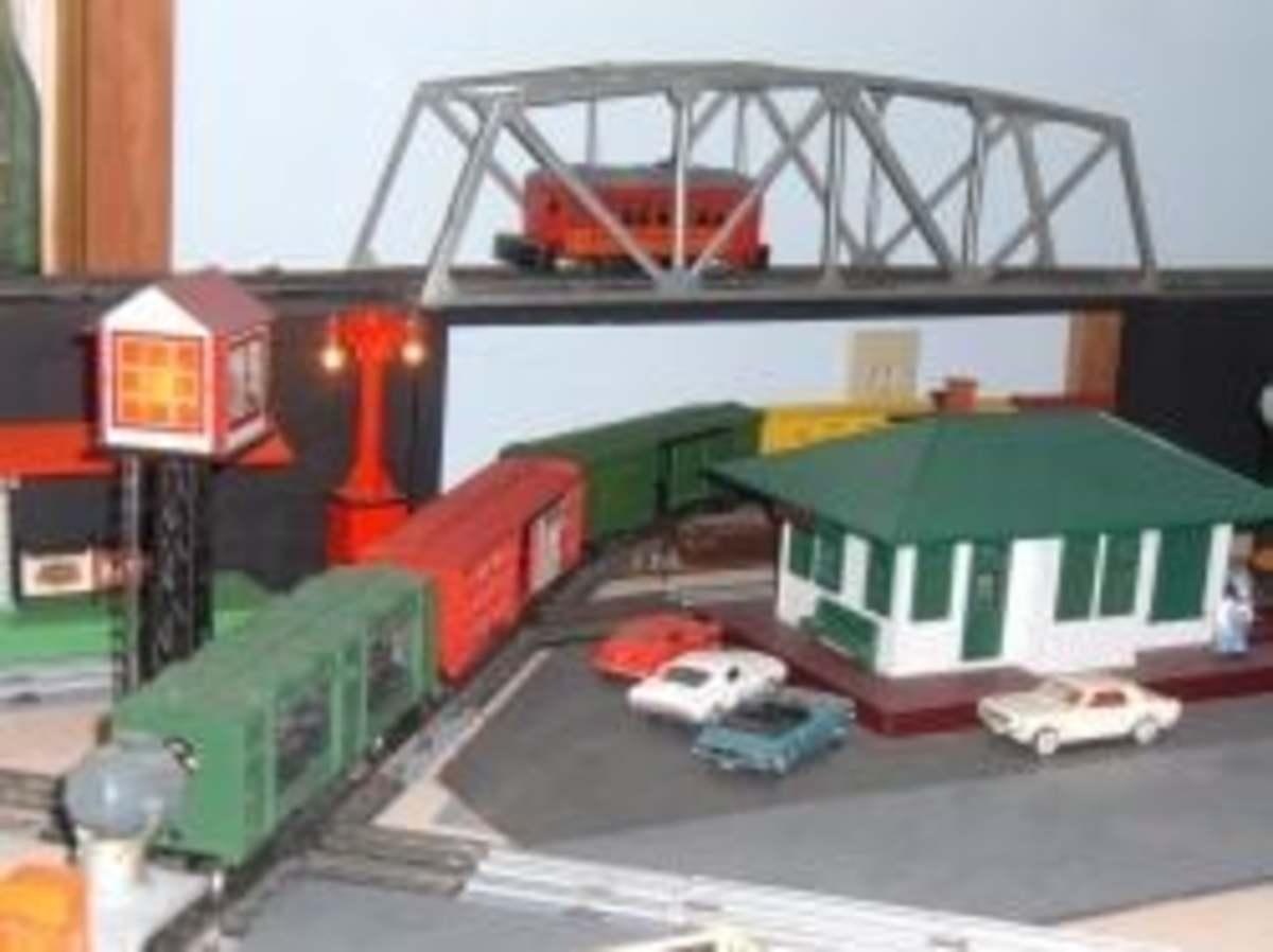 My Lionel Toy Train Layout