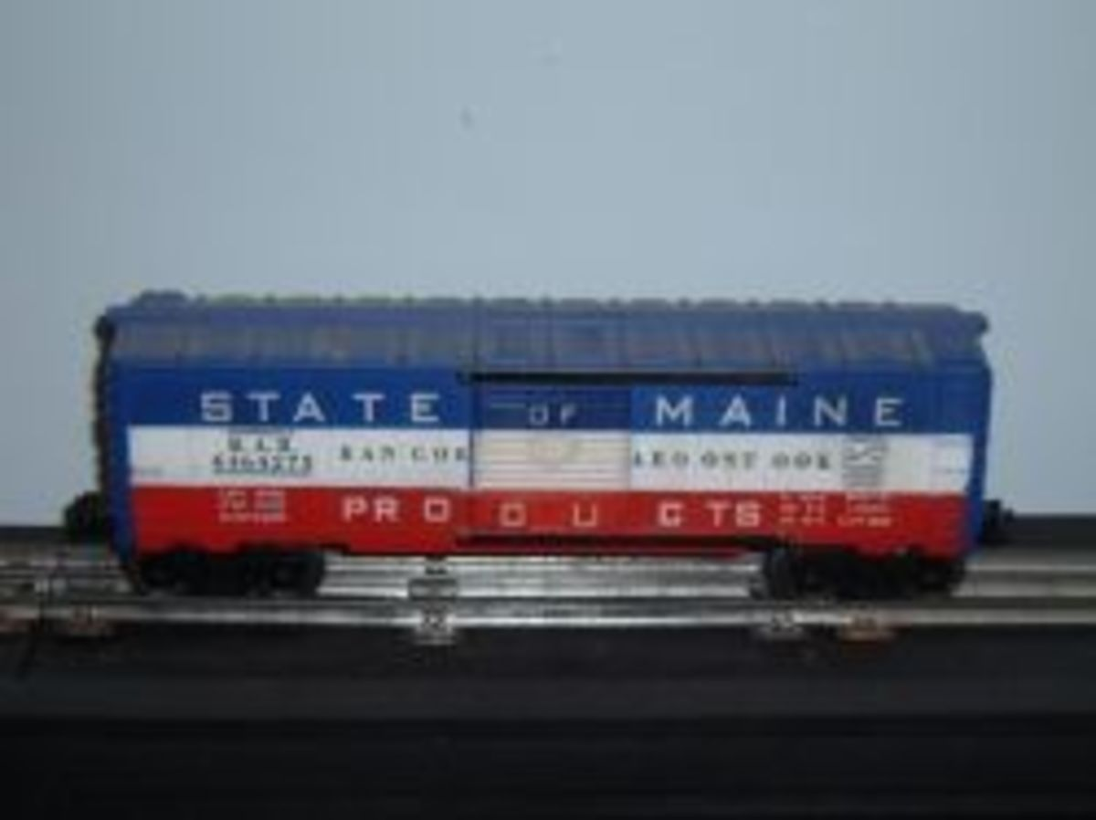 Collecting Lionel Trains - State of Maine