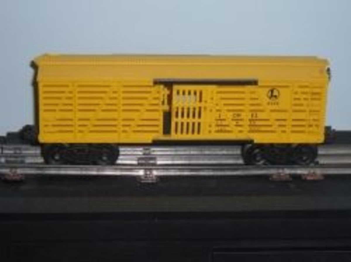 Collecting Lionel Trains - Stock Car