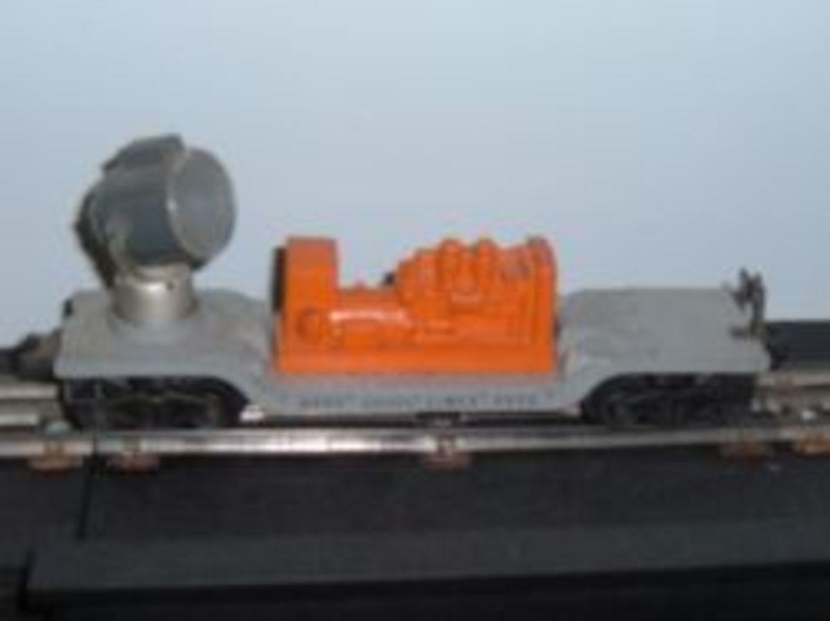 Lionel Search Light Car