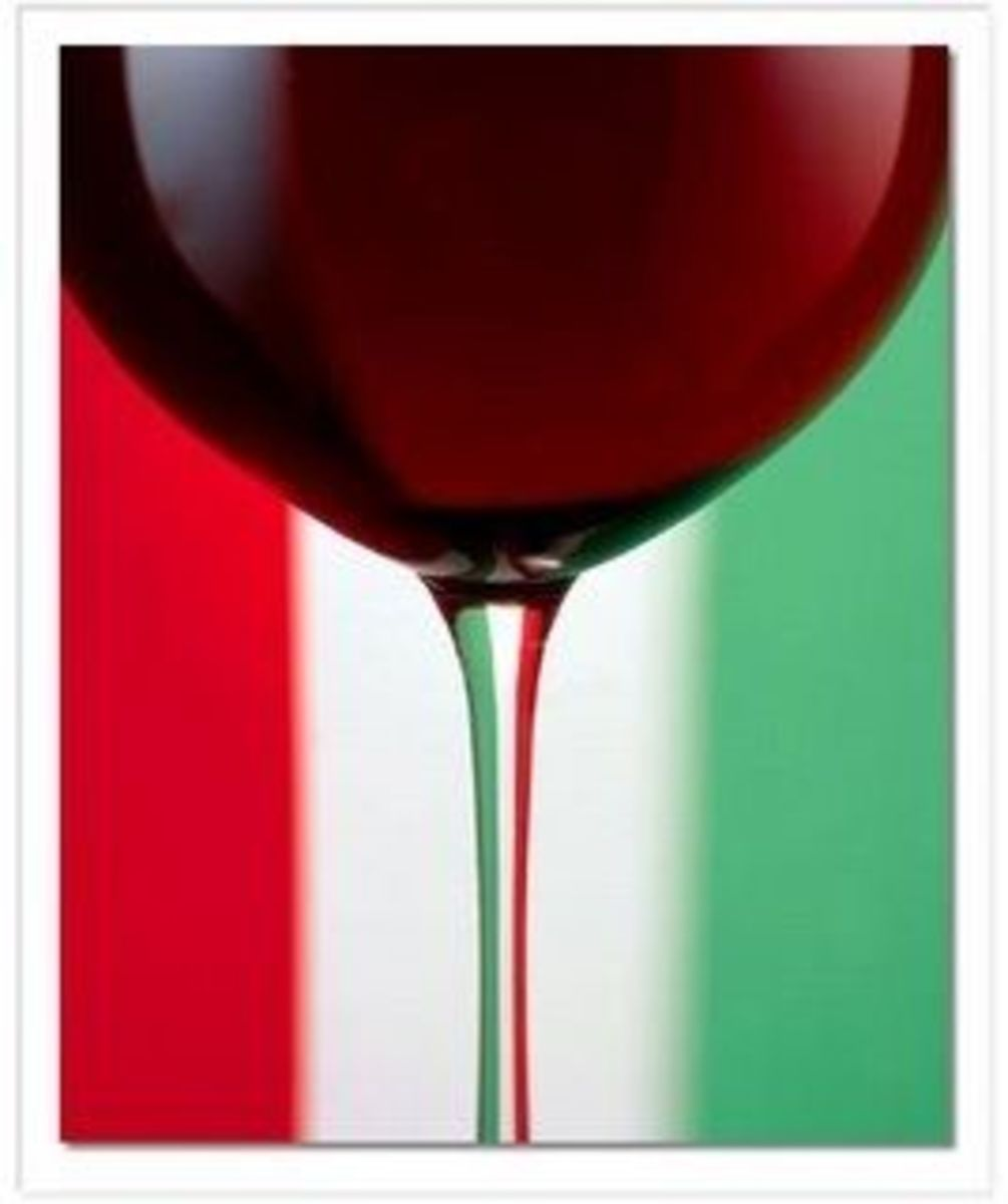 Red Wine is a Must for an Italian Dinner Party