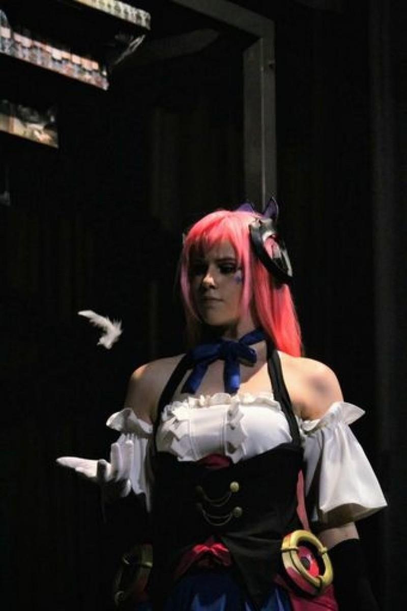 Eli's cosplay of Megurine Luka